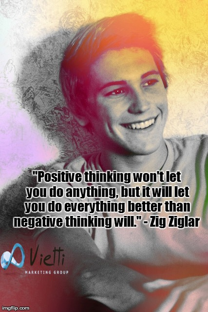 positive thinking, Zig Ziglar, motivation, inspiration