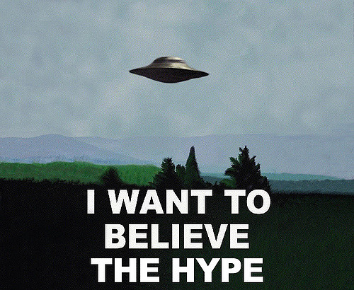 hype, marketing, the x files, i want to believe